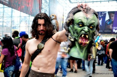 New York Comic Con cosplay - Clash of the Titans