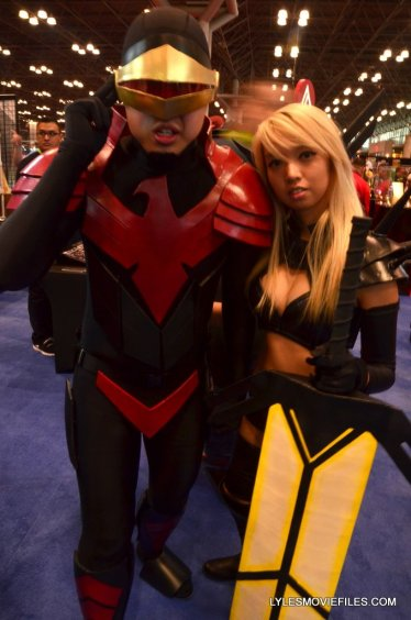 New York Comic Con cosplay - Cyclops and Magik 2