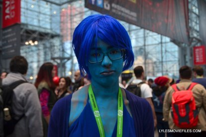 New York Comic Con cosplay - Inside Out Sadness