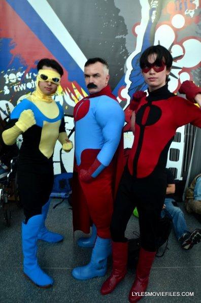 New York Comic Con cosplay - Invincible