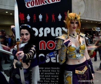 New York Comic Con cosplay - Minnie d'Moocha and Sayakat Cosplay