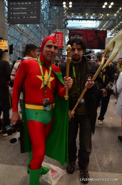 New York Comic Con cosplay - Starman and Starman