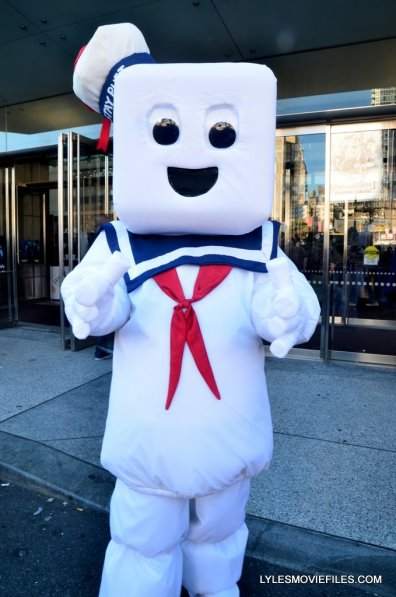 New York Comic Con cosplay - Stay Puft Marshmallow Man