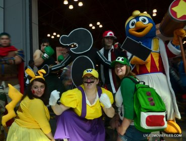 New York Comic Con cosplay - Super Smash Brothers group cosplay