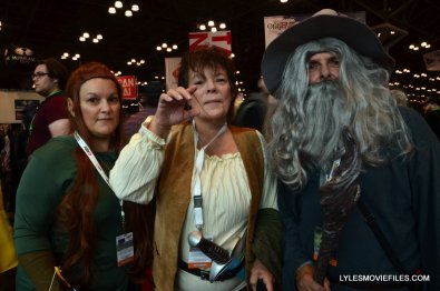 New York Comic Con cosplay - The Hobbit group cosplay