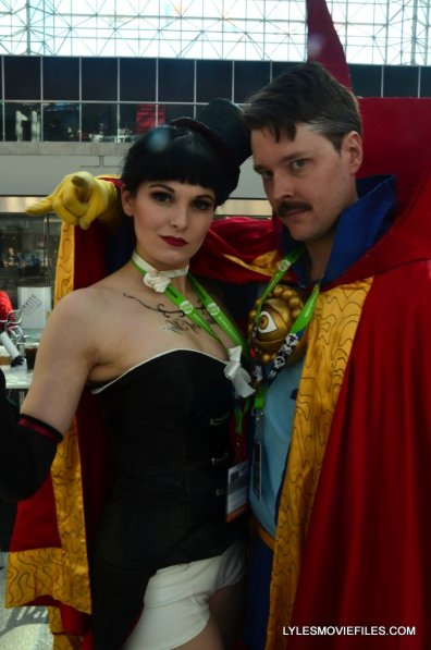 New York Comic Con cosplay -Zatanna and Doctor Strange