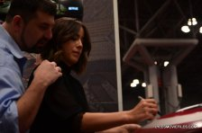 NYCC'15 - Chloe Bennet signing at Marvel panel
