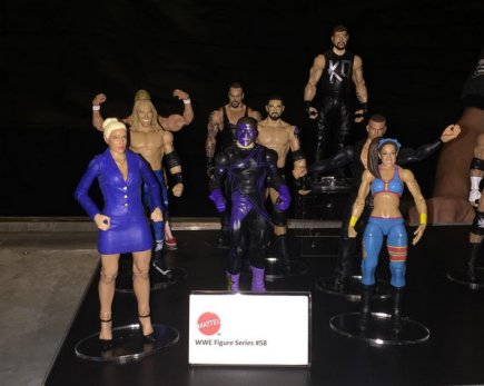WWE Ringside Fest Mattel Basic Series