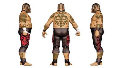 WWE Ringside Fest Mattel Elite 40 Umaga 2