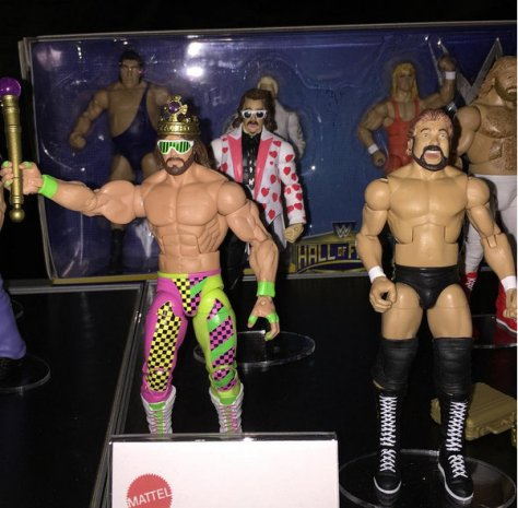 WWE Ringside Fest Mattel Target Hall of Fame Macho King, Jimmy Hart and Ted Dibiase