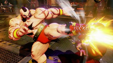 Zangief Street Fighter 5 -kick