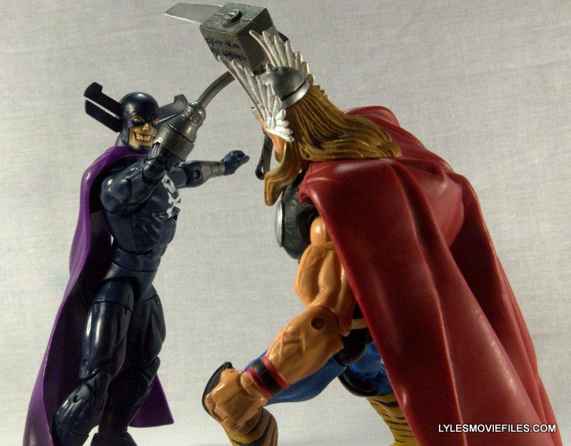 Marvel Legends Grim Reaper - battling Thor