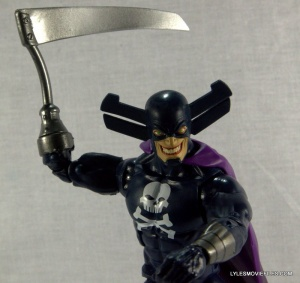 Marvel Legends Grim Reaper - holding scythe up