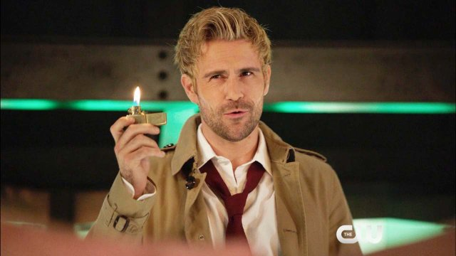 Arrow - Haunted - Matt Ryan as John Constantine DC legends of tomorrow