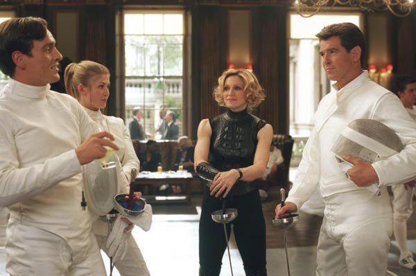Die Another Day - Gustav Graves, Miranda Frost, Veraty and Bond