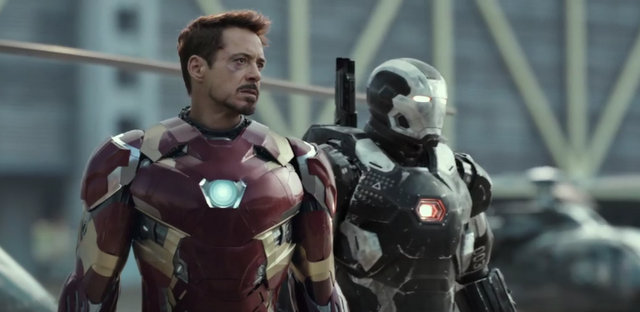 """Captain America Civil War"" - Iron Man and War Machine"