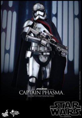 Hot Toys Force Awakens Capt Phasma - cape draping