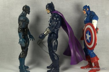 Marvel Legends Grim Reaper - scale look with Black Panther and Captain America