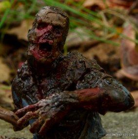 McFarlane Toys Walking Dead Mud Walker - head closeup