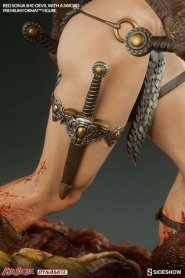 Red Sonja - She Devil with a Sword premium format -thigh dagger