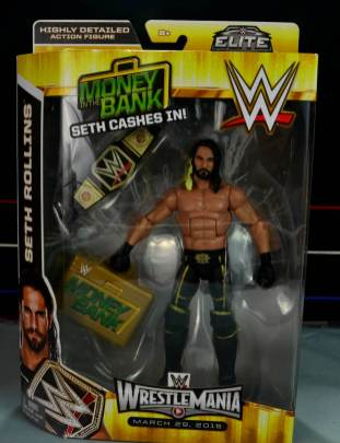 Seth Rollins Mattel exclusive - front package
