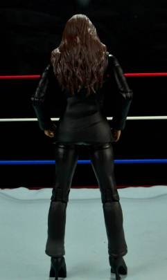 WWE Basic Stephanie McMahon - back shot