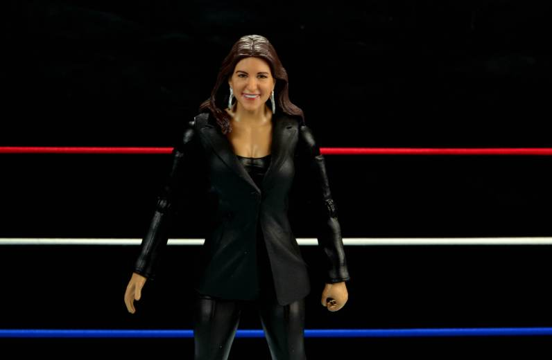 WWE Basic Stephanie McMahon - wide front shot