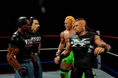 WWE Mattel APA -APA vs New Age Outlaws