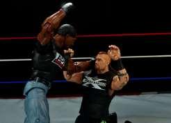 WWE Mattel APA -Farooq beats down Road Dogg
