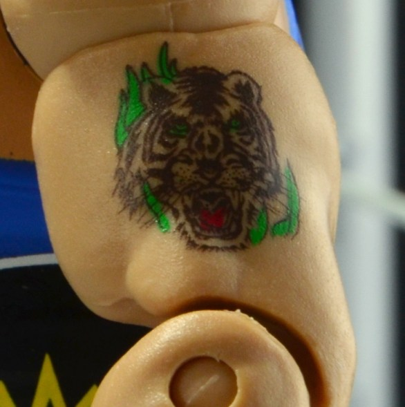 WWE Mattel Earthquake -tattoo