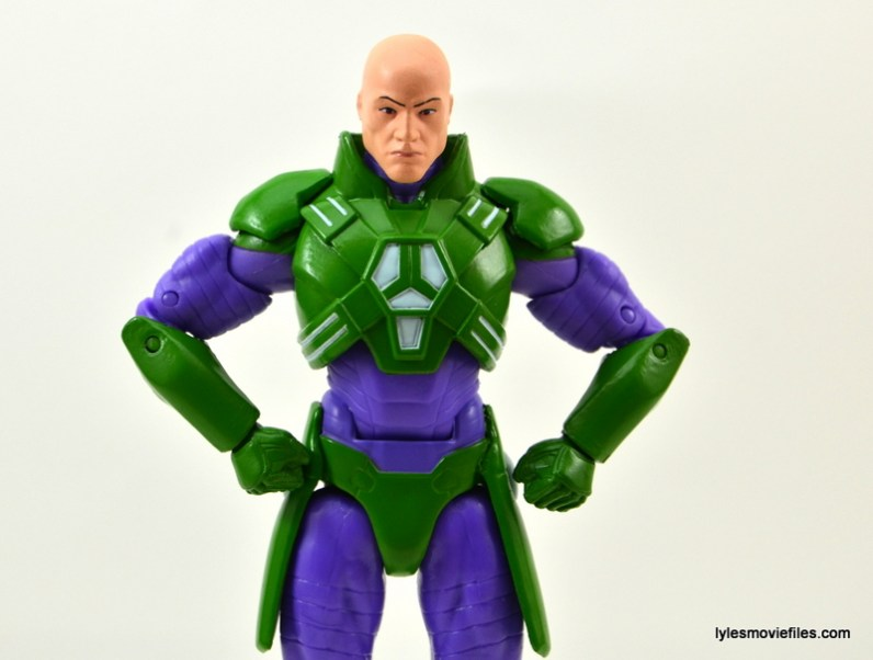 DC Collectibles Icons Lex Luthor review -hands on hips