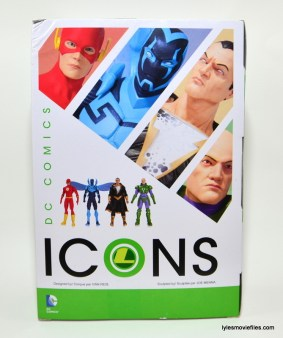DC Collectibles Icons Lex Luthor review -rear package