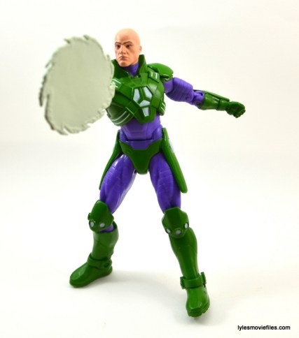 DC Collectibles Icons Lex Luthor review -saw blade front