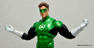 DC Icons Green Lantern figure review -arms out