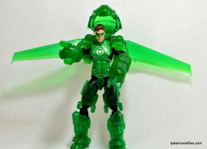 DC Icons Green Lantern figure review -cockpit up