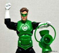 DC Icons Green Lantern figure review - holding lantern