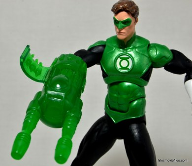 DC Icons Green Lantern figure review -machine gun construct