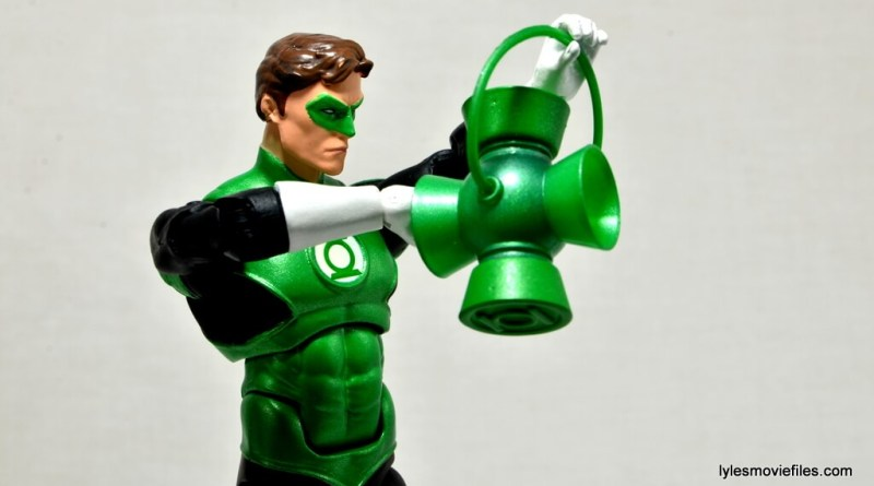 DC Icons Green Lantern figure review -recharging lantern