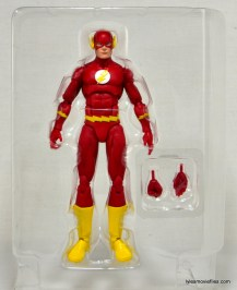 DC Icons The Flash figure review -inner tray