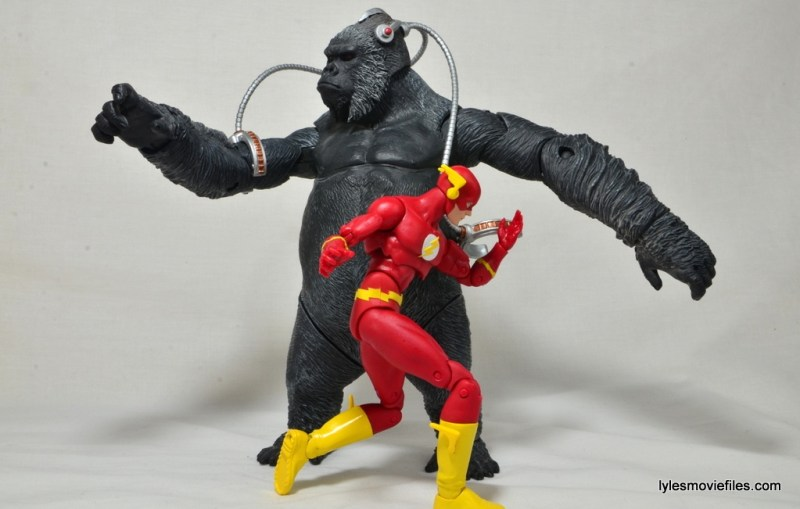 DC Icons The Flash figure review -racing around Gorilla Grodd