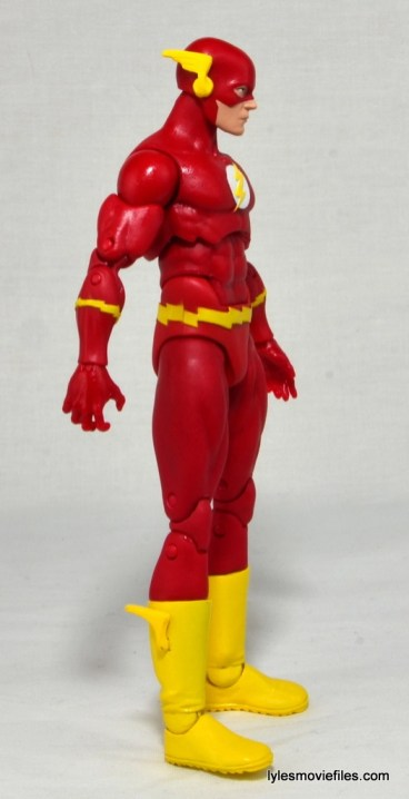 DC Icons The Flash figure review -right side