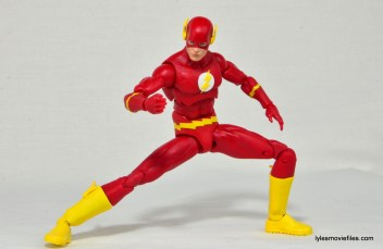 DC Icons The Flash figure review -taking off