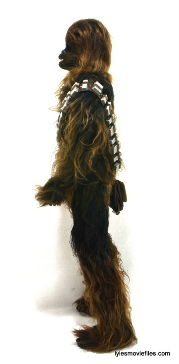 Hot Toys Han Solo and Chewbacca review -Chewbacca left side