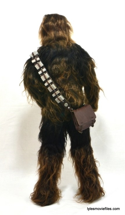 Hot Toys Han Solo and Chewbacca review -Chewbacca rear