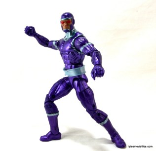Machine Man Marvel Legends figure review - action pose