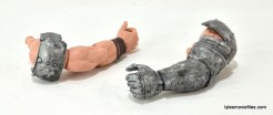 Machine Man Marvel Legends figure review - BAF Thor arms