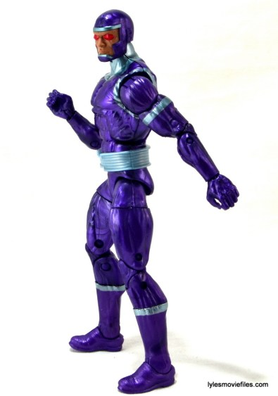 Machine Man Marvel Legends figure review - left side