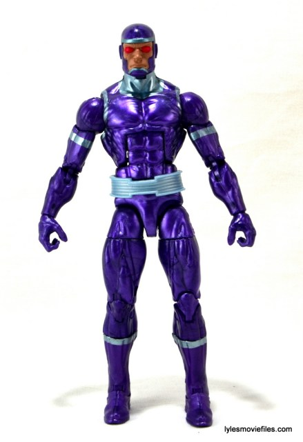 Machine Man Marvel Legends figure review - Machine Man front