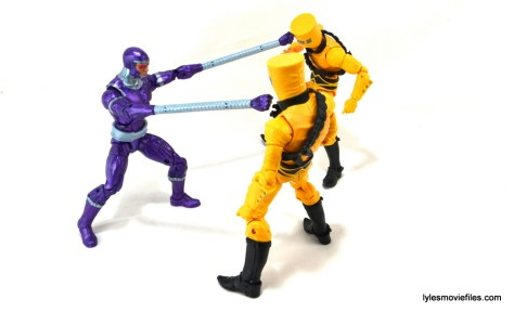 Machine Man Marvel Legends figure review - Machine Man vs AIM
