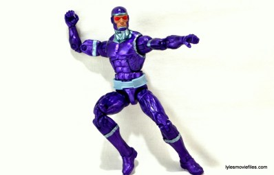 Machine Man Marvel Legends figure review - ready to fight